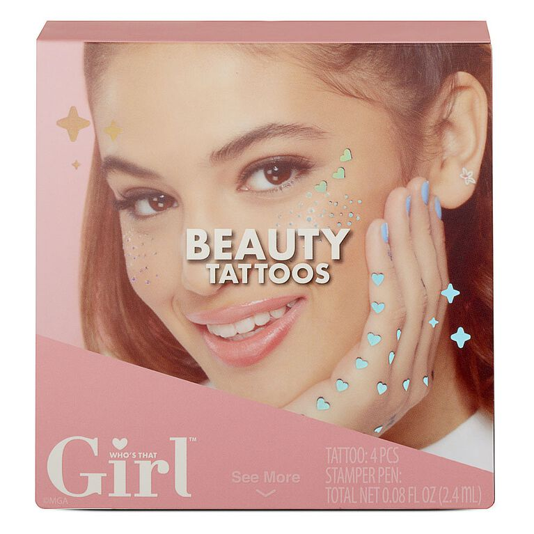 Who''''s That Girl Beauty Tattoos
