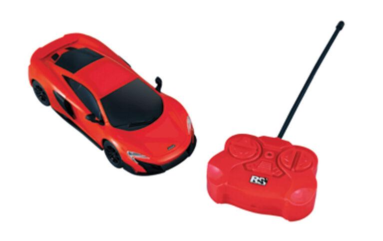 1:24 McLaren 675LT Coupe - Remote Control Car - Red