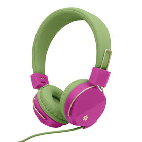 LiMited Too Flower Bright On-Ear Headphones - Green