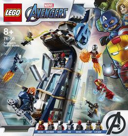 LEGO Super Heroes La tour de combat des Avengers 76166
