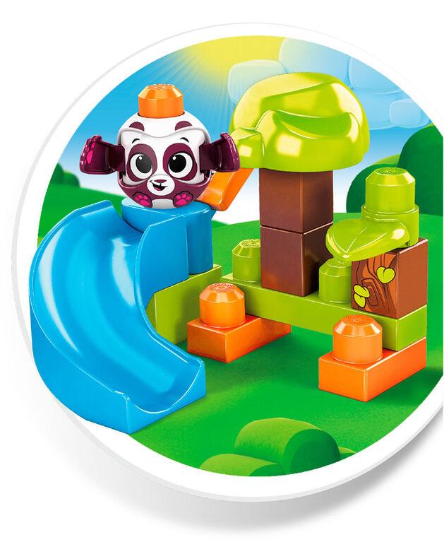 Mega Bloks Peek A Blocks Forest Playset