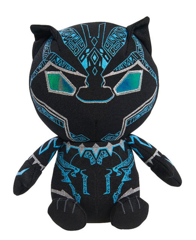 Marvel Black Panther Slammers Plush Black Panther
