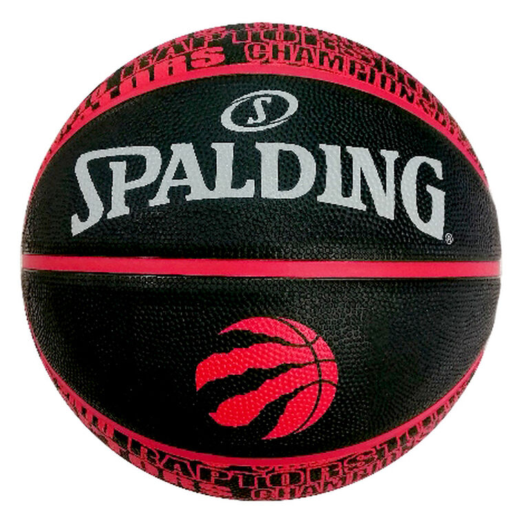 NBA Raptors Championship Ball Size 7