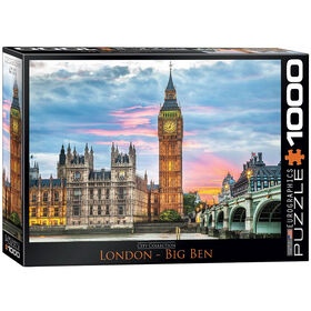 Eurographics Big Ben London 1000 Piece Puzzle