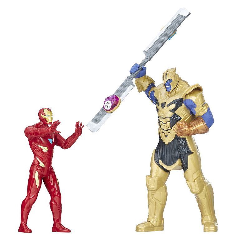 Marvel Avengers: Infinity War Iron Man vs. Thanos Battle Set  - French Edition