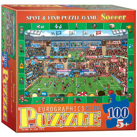 Soccer Spot & Find 100-Piece Puzzle