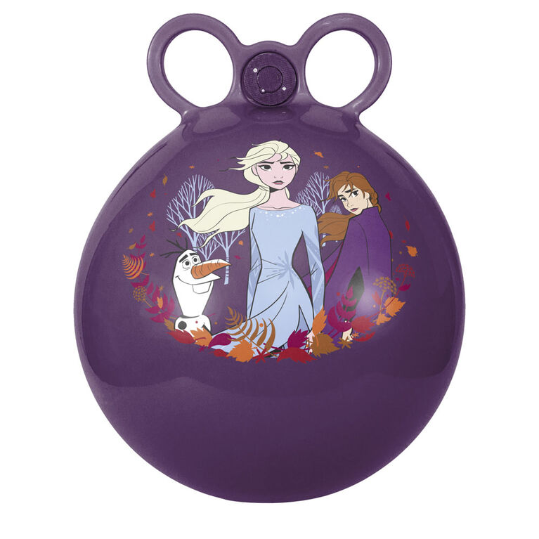 Ballon-sauteur La reine des Neiges 2 avec Musique