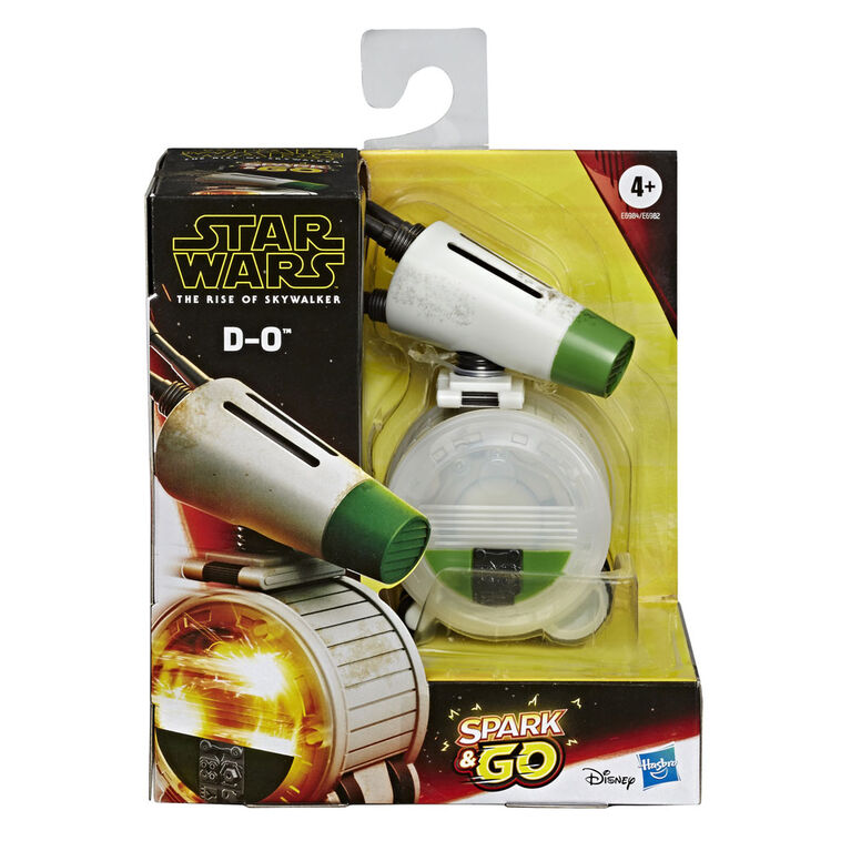 Star Wars Spark and Go D-O Rolling Droid Star Wars: The Rise of Skywalker Rev-and-Go