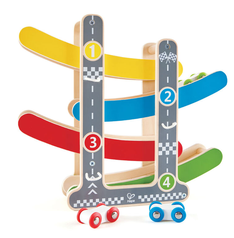 Hape Fast Flip Racetrack - English Edition