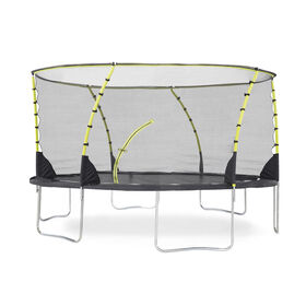 Plum 12ft Whirlwind Springsafe Trampoline and Enclosure