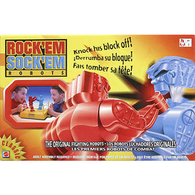 Rock 'em Sock 'em Robots Game - styles may vary