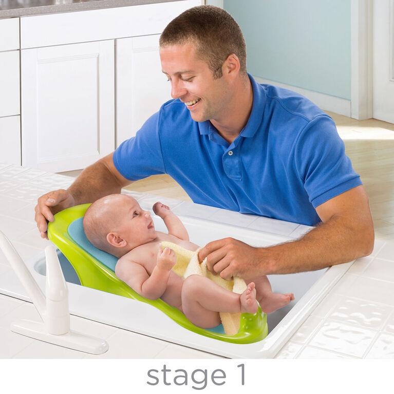 Baignoire à la bonne hauteur de Summer Infant.