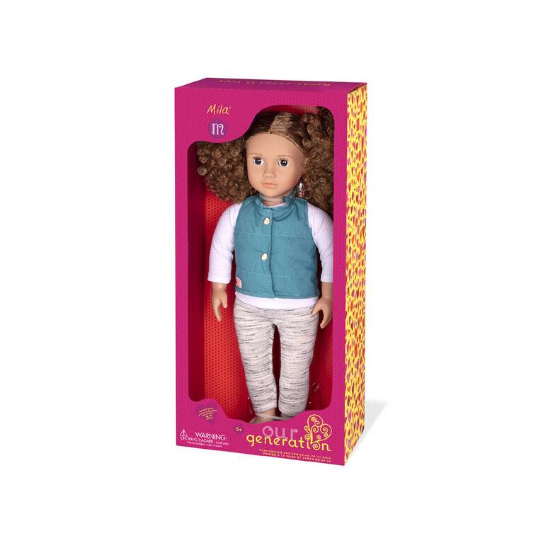 Our Generation, Mila, 18-inch Fashion Doll