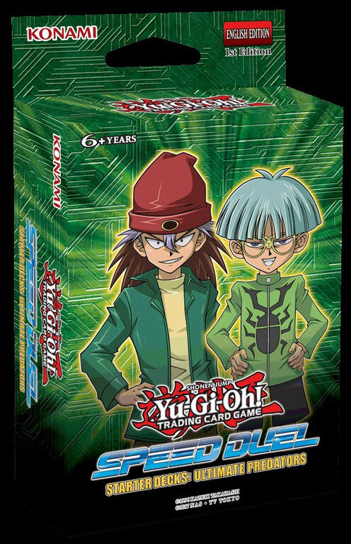 Yu-Gi-Oh! Speed Duel Starter Decks: Ultimate Predators