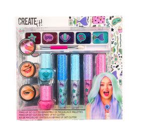 CREATE IT! Makeup Set Glitter Mermaid 7-Pieces