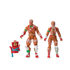 Fortnite Gingerbread 2 Figure Pack - English Edition