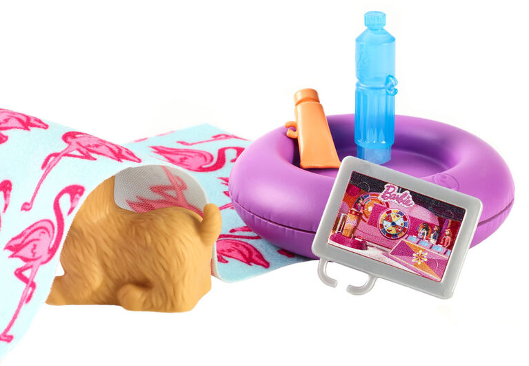 Barbie Outdoor Furniture, Donut Floaty Pack