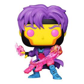 Figurine en Vinyle Gambit (Blacklight)  par Funko POP! Marvel: X-Men Classic - Notre exclusivité