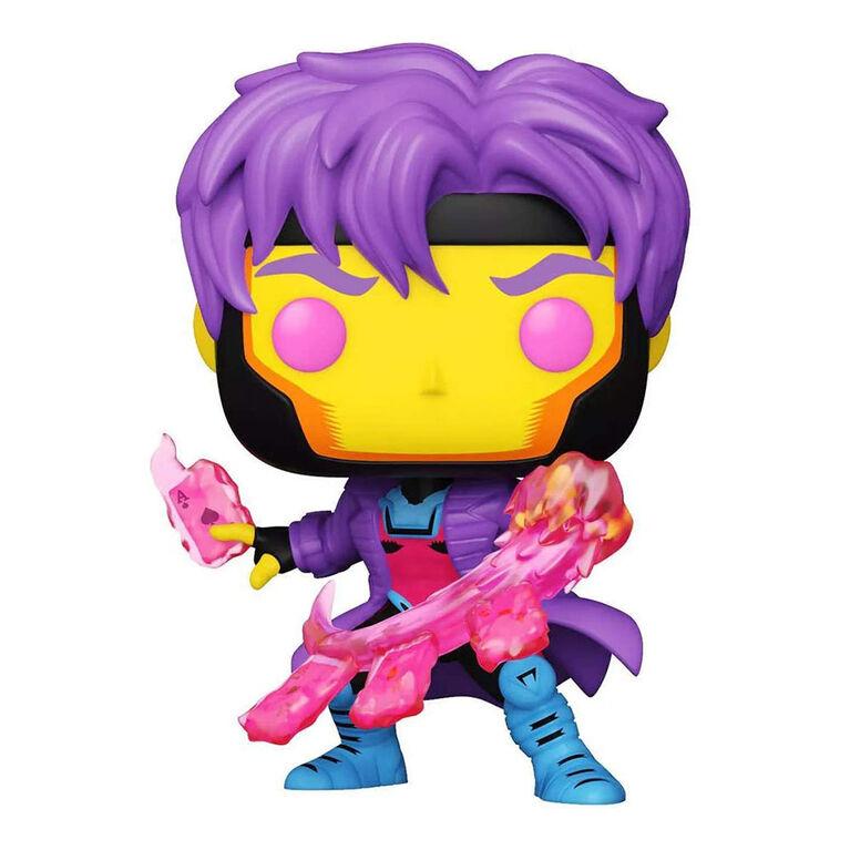 Funko POP! Marvel: X-Men Classic - Gambit (Blacklight) - R Exclusive