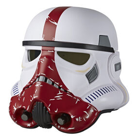 Star Wars The Black Series The Mandalorian Incinerator Stormtrooper Premium Electronic Helmet