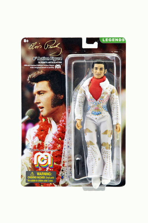 "Elvis in Aloha Jumpsuit 8"" figure"