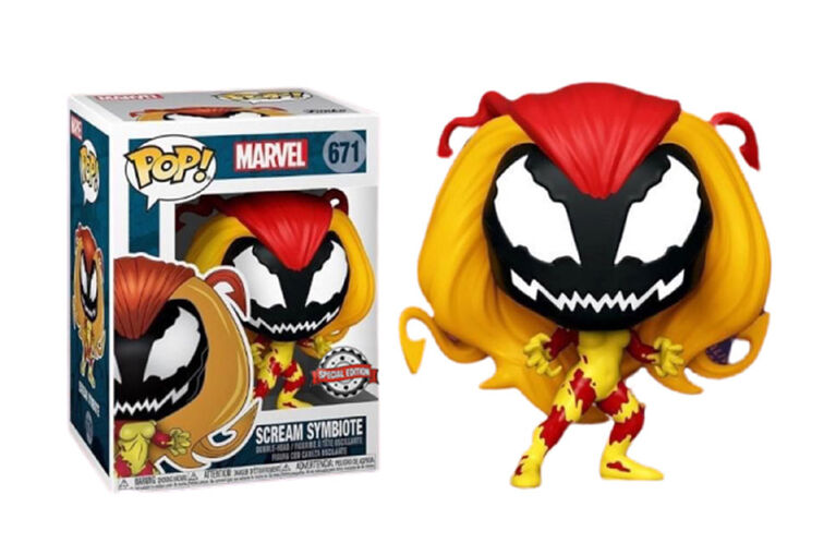 Funko POP! Moives: Marvel - Scream Symbiote - Notre exclusivité