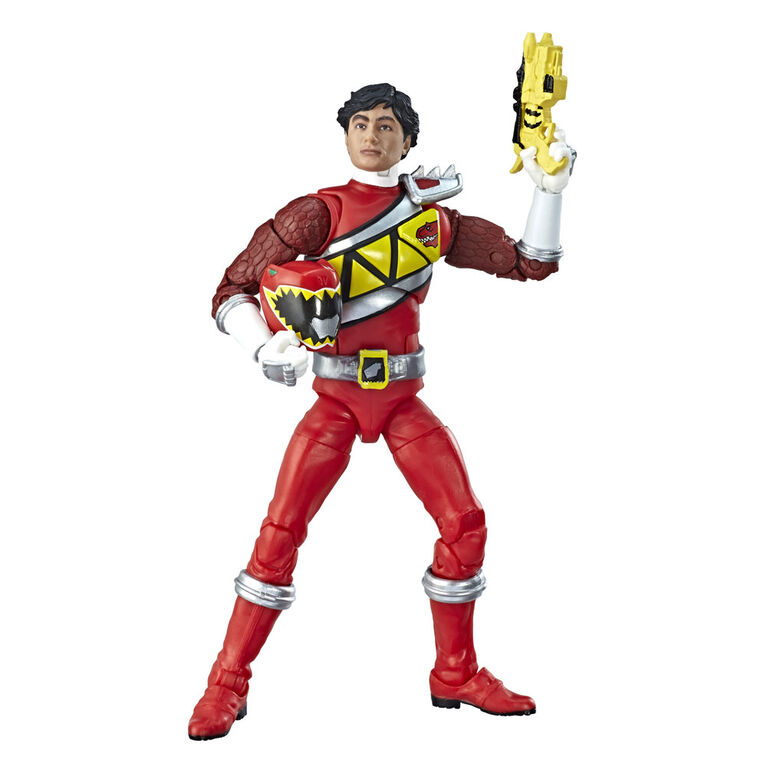Power Rangers Lightning Collection - Figurine de collection Ranger rouge Dino Charge de 15 cm.