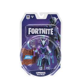 Pack de figurines de base Fortnite Solo Mode, Luminos - Édition anglaise