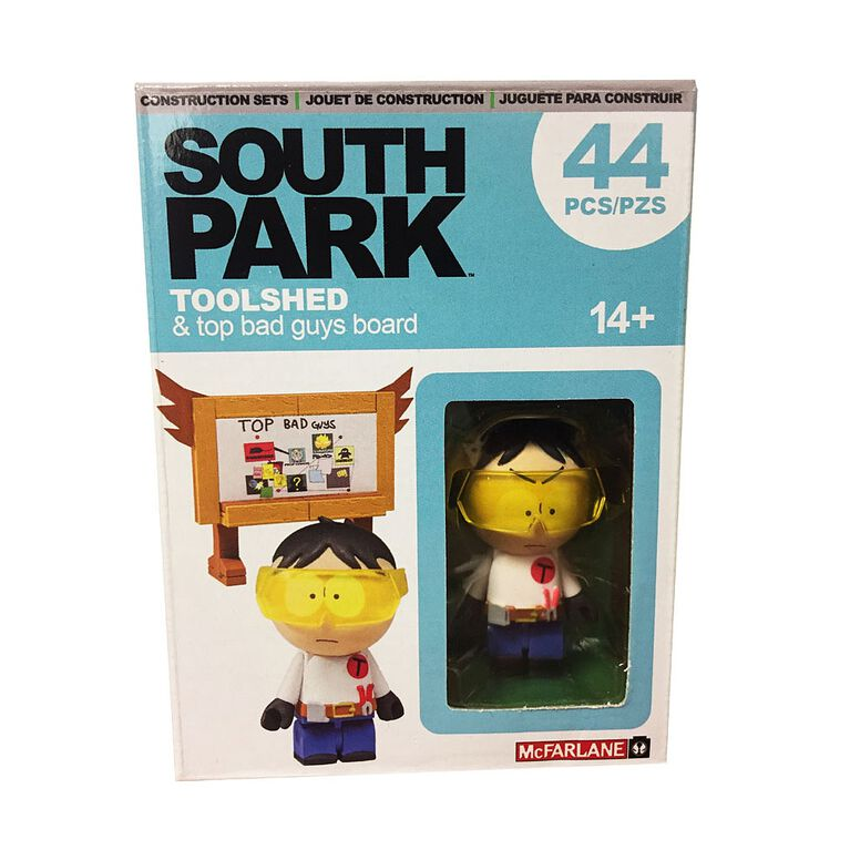 South Park - Toolshed & top bad guys board