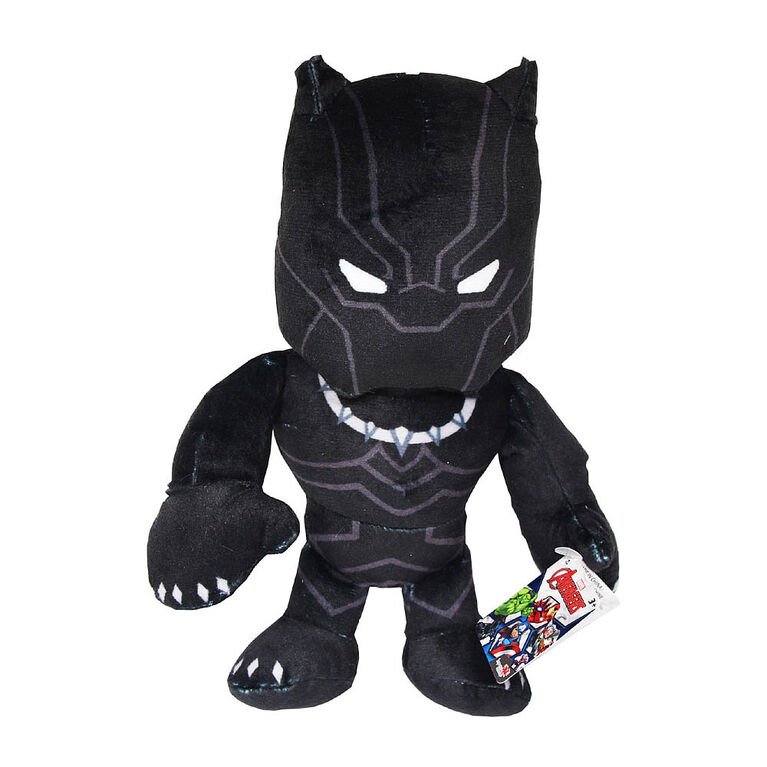 "Disney Marvel Avengers 11"" Plush - BLACK PANTHER"