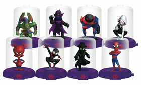 Spider-Man Into the Spider-Verse Domez Series 1 - 8 Figure Pack - R Exclusive