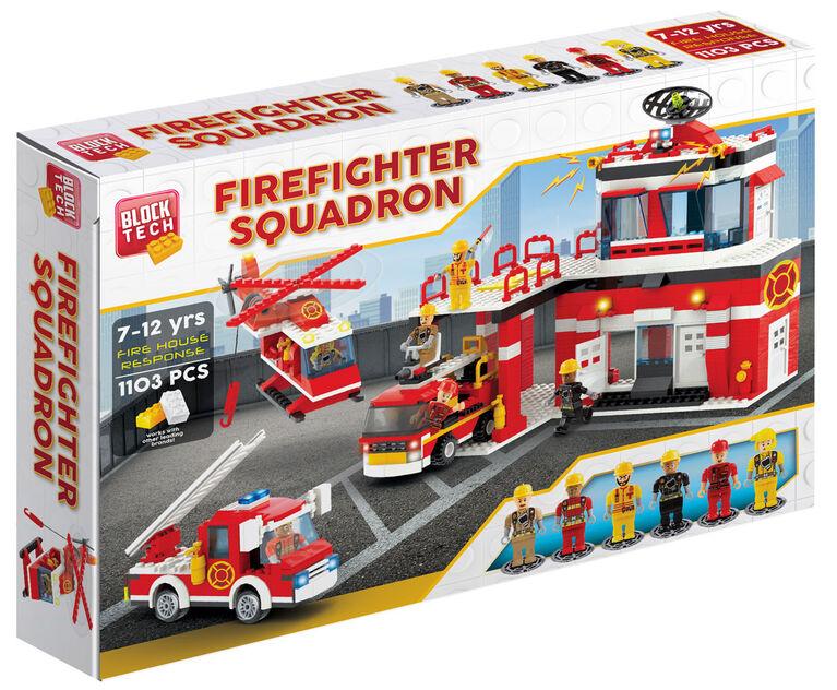 Block Tech - Firefighter Squad: Fire House Response 1103 pc