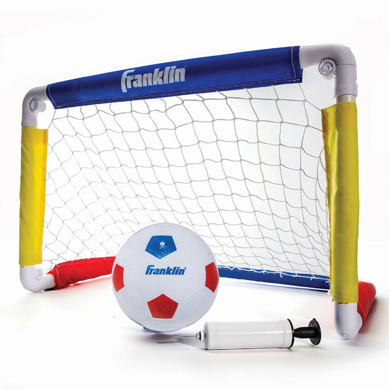 """Franklin Sports 24"""" Soccer Goal with Ball and Pump"""