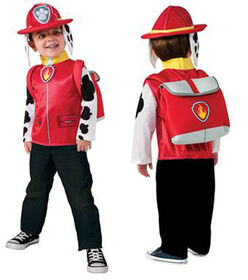PAW PATROL MARSHALL DELUXE COSTUME TOP SET