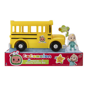 Cocomelon - Musical Yellow School Bus - English Edition