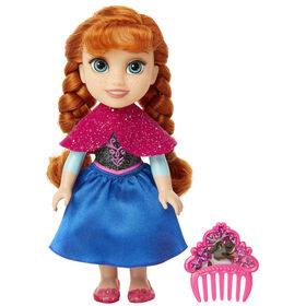 Anna Petite Doll with Glittered Hard Bodice and Comb