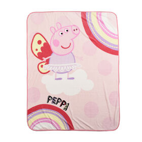 Peppa Pig Plush Throw