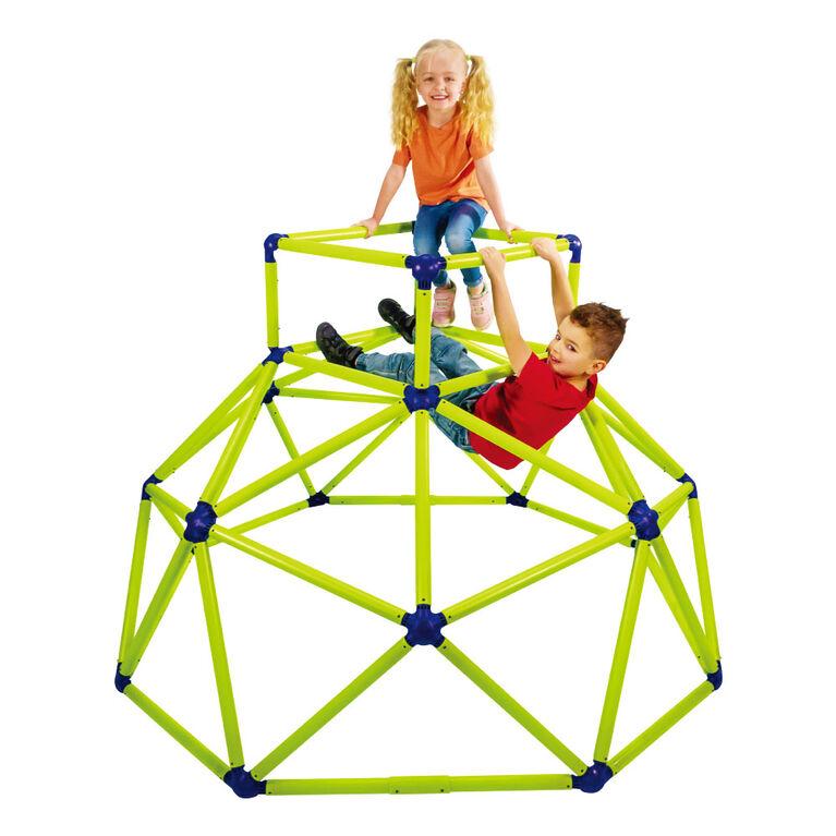 Eezy Peezy Grimpeur Avec Haut-Amusement Actif En Plein Air Pour Les Enfants De 3À8 Ans, Vert/Bleu