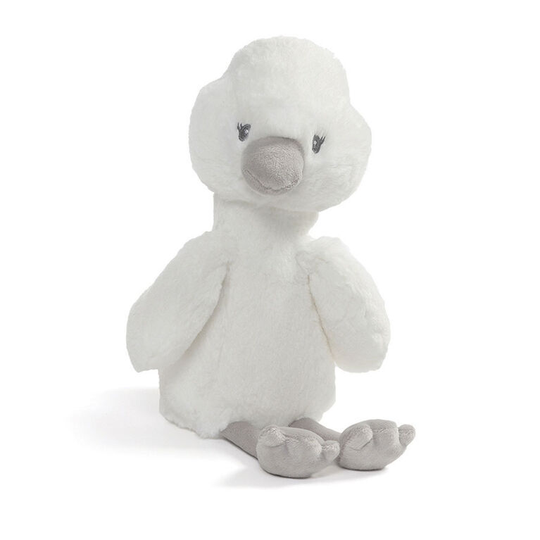 Baby GUND, Peluche cygne Baby Toothpick, blanc, 30,5cm