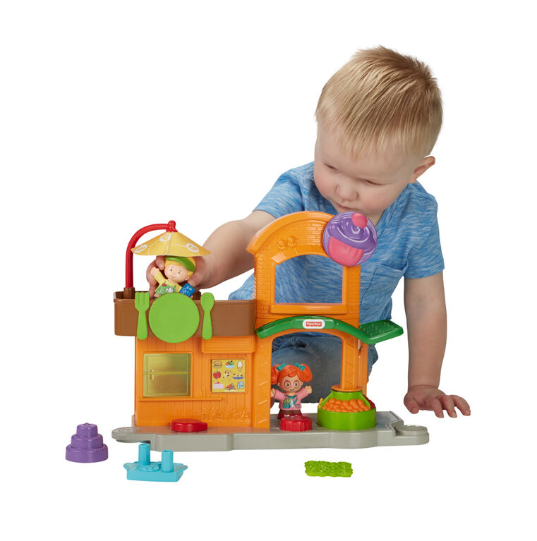 Fisher-Price Little People Manners Marketplace - English Edition