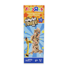 Geoffrey 42-Piece Jumbling Tower Game