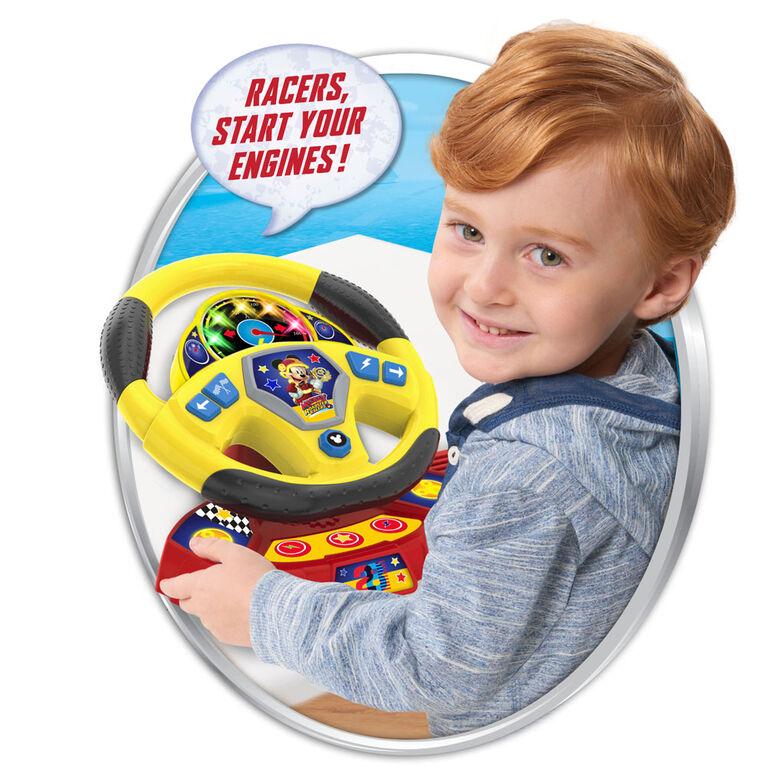Volant Surcompressé de Mickey et les Roadster Racers