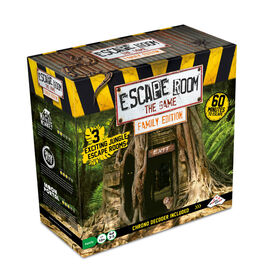 Identity Games Escape Room - The Game Family Edition with 3 Exciting Jungle Escape Rooms - English Edition - R Exclusive