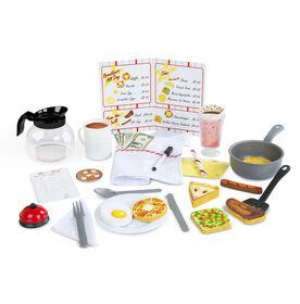 Melissa & Doug - Star Diner Restaurant Play Set - styles may vary