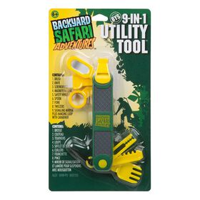 Backyard Safari 9-In-1 Utility Tool