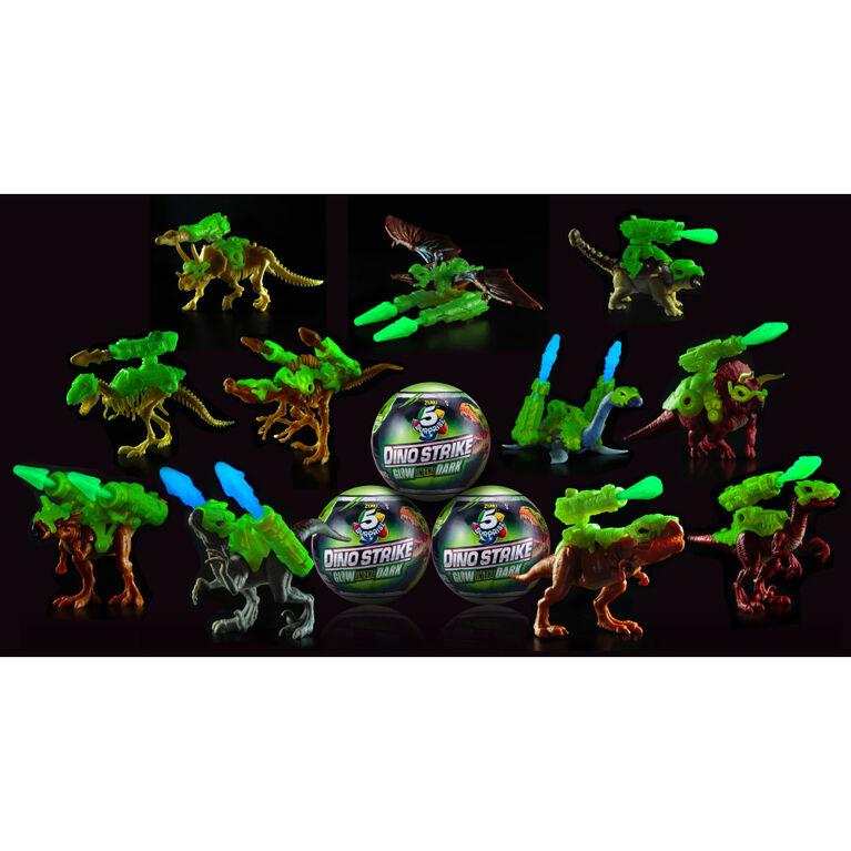 Zuru 5 Surprise Dino Strike Glow In The Dark