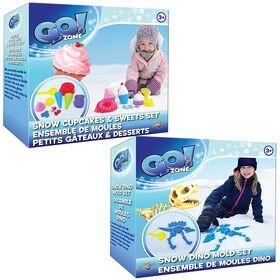 Go! Zone Dino/Cupcake Mold Set Assorted
