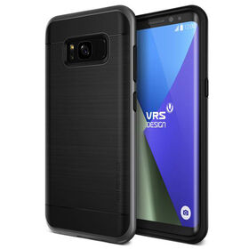 Vrs Design High Pro Shield Case for Samsung Galaxy S8 Dark Silver (VRSGS8HPSDS)