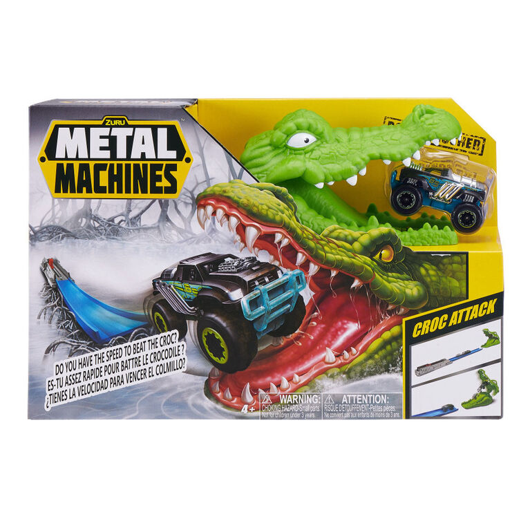Metal Machines Crocodile Game