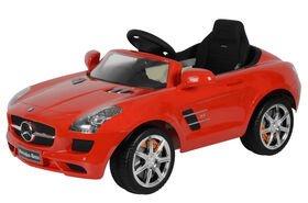 Best Ride on Cars Mercedes 12V SLS AMG - Red